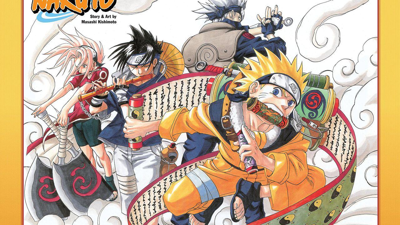 Naruto: l'edizione full color torna in edicola con La Gazzetta e Sorrisi e Canzoni!