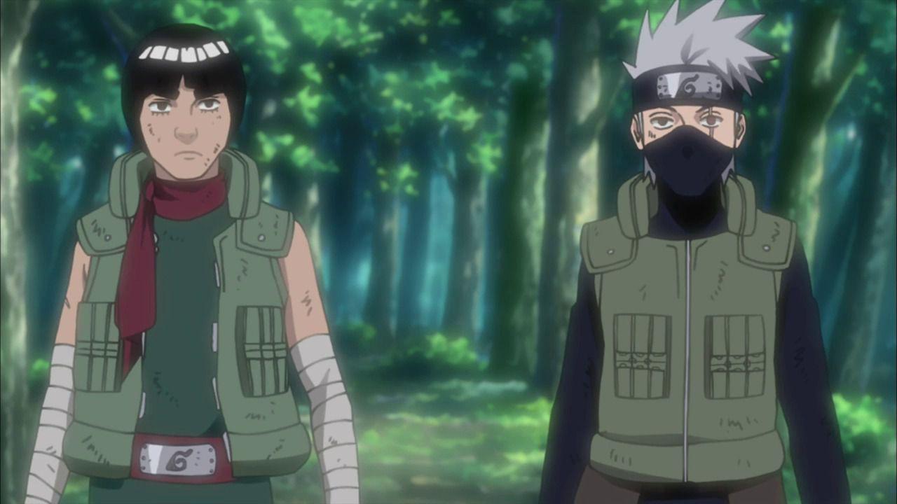 Naruto: Kakashi e Gai sono un duo formidabile nella figure di Surge Studio