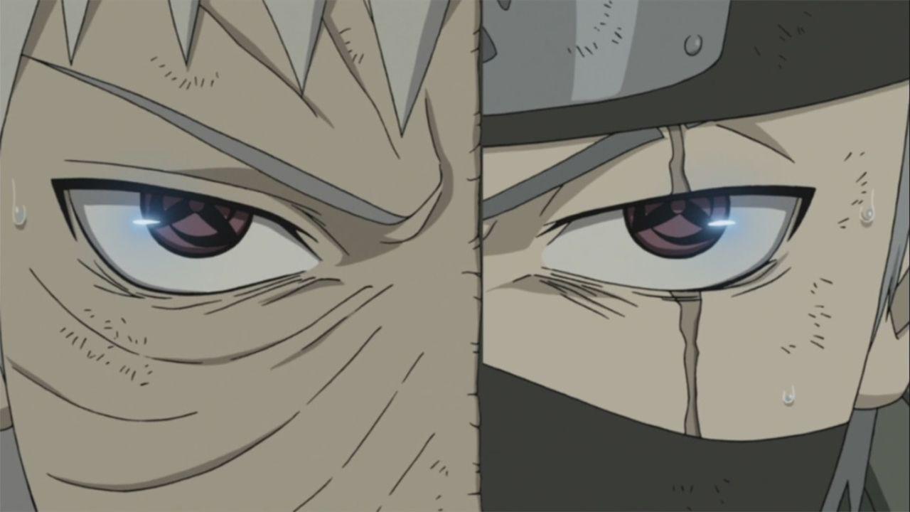 Naruto: Kakashi e Obito adulti fanno coppia in combattimento con una fanart