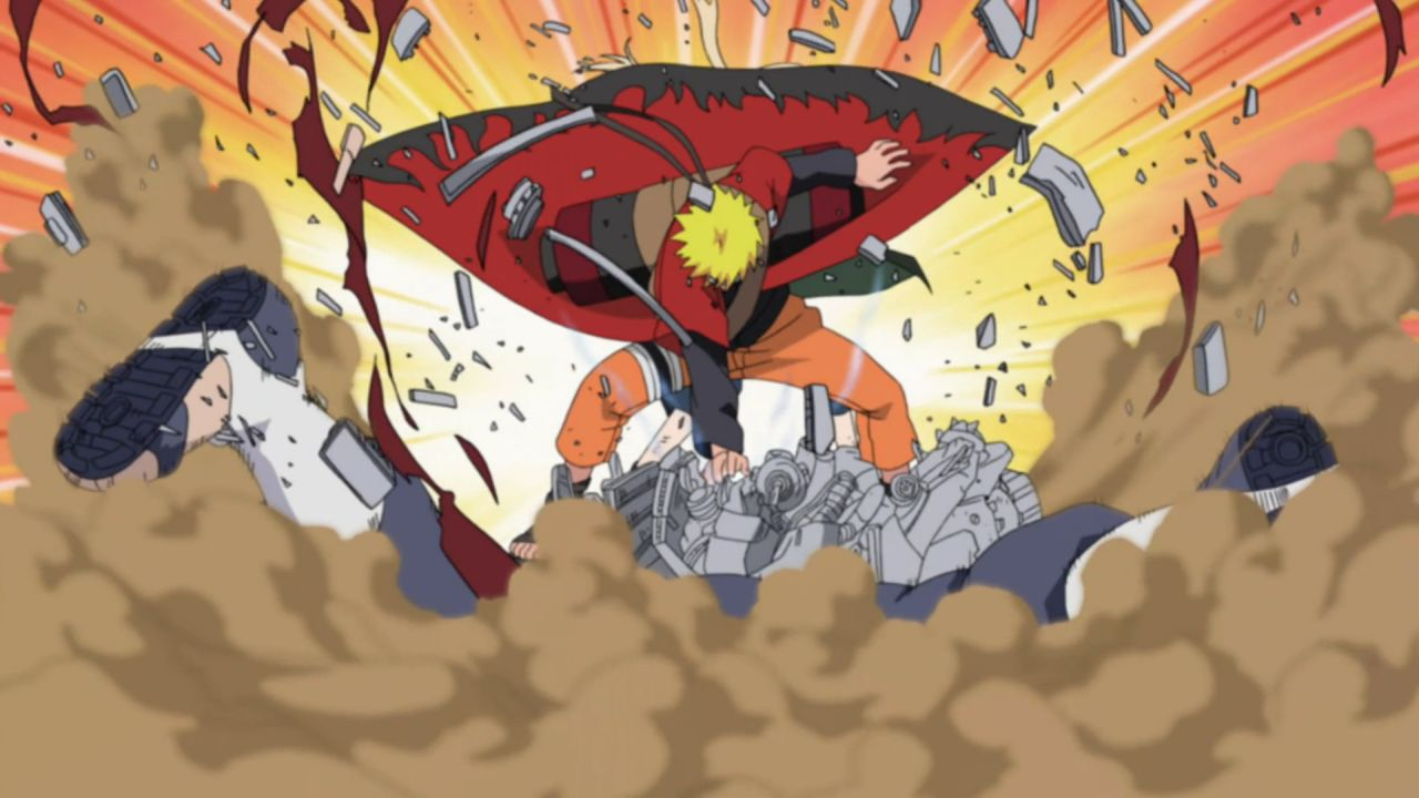 Naruto contro Pain in una fantastica statuetta in arrivo nel 2021