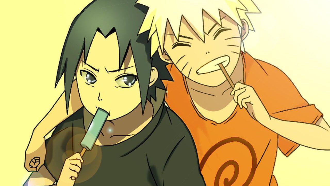 Naruto e Sasuke adorabili in un triplo cosplay di famiglia diventato virale