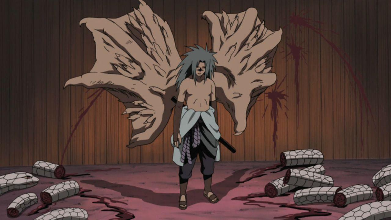 Naruto: Sasuke Uchiha col segno maledetto in una statuetta da 400€
