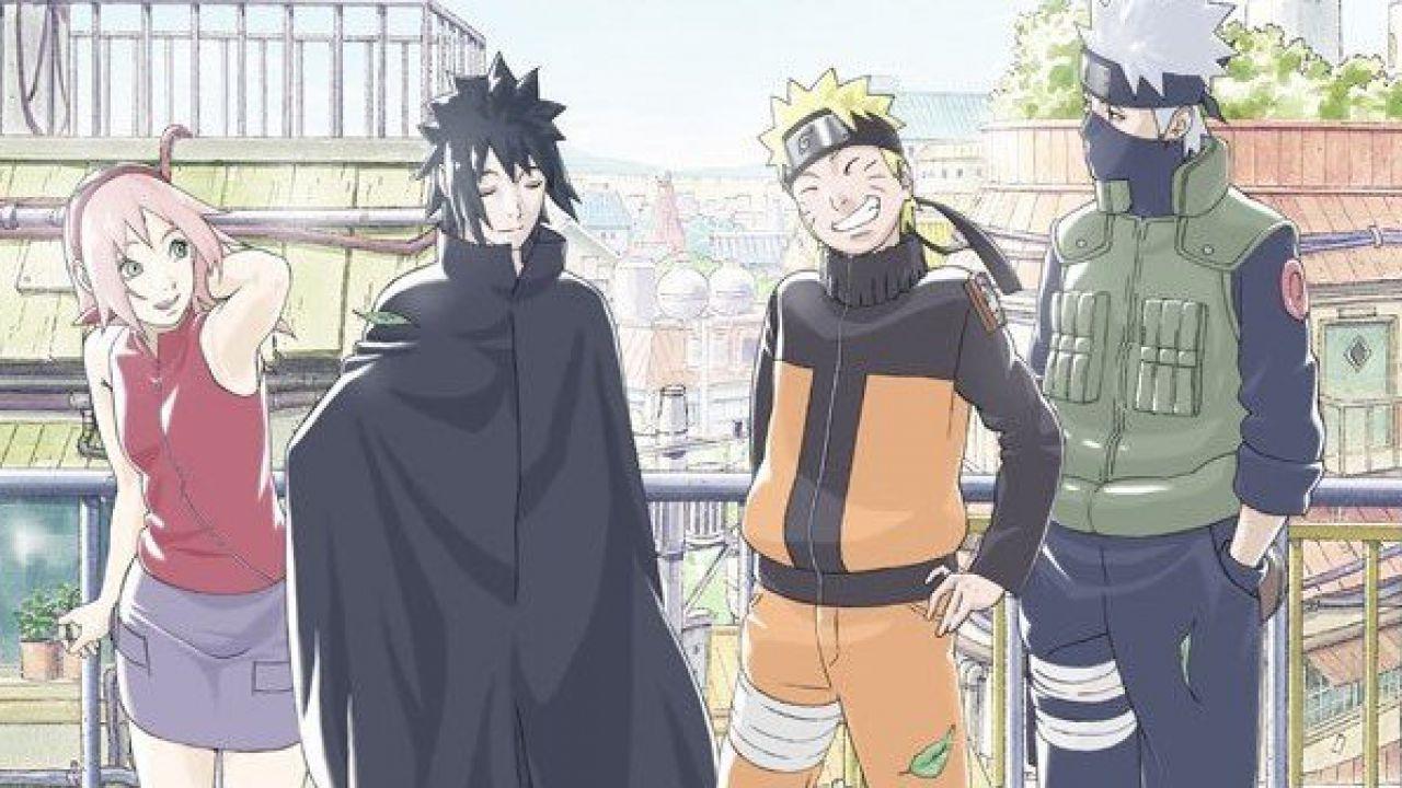 Naruto Shippuden: un artwork ritrae la Squadra 7 dopo la Quarta Guerra dei Ninja