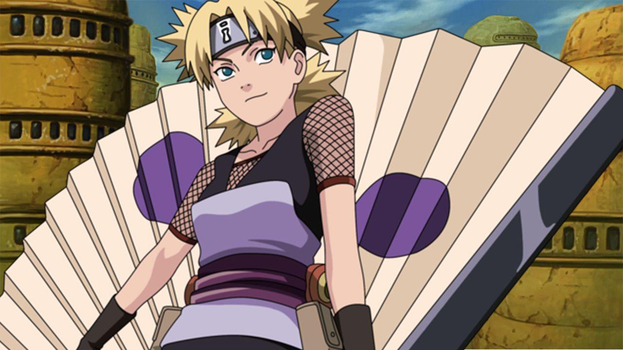 Naruto: Shippuden, un cosplay perfetto per Temari del Villaggio della Sabbia