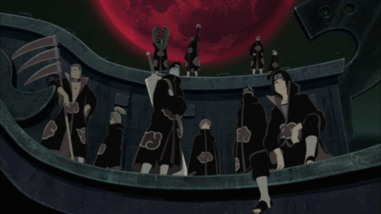 Naruto Shippuden, i membri di Alba dal più scarso al più forte