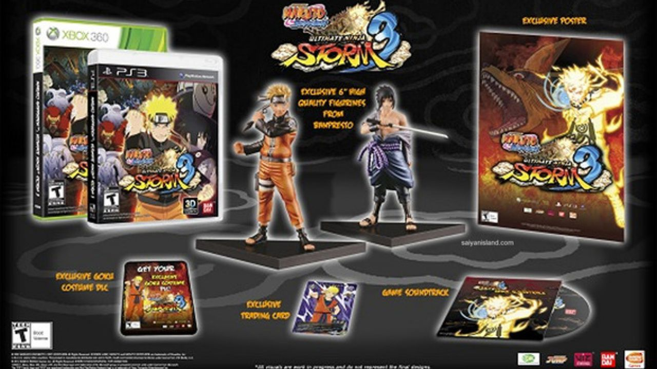 Naruto Shippuden: Ultimate Ninja 3, tutti e nove gli Jinchuuriki saranno giocabili