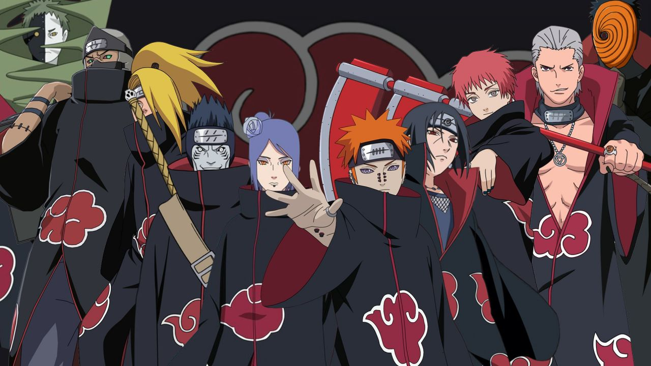 Naruto: l'X Box Series X è pronta ad attaccare Konoha in questa cover dell'Akatsuki