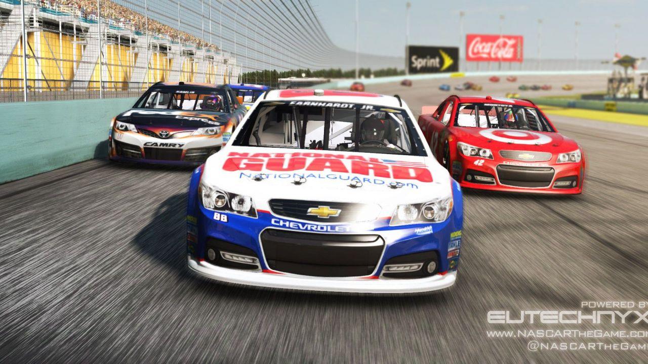 NASCAR The Game 2013 è disponibile su Steam