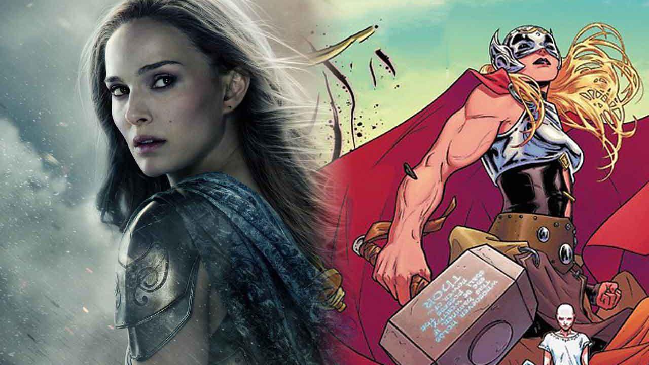 Natalie Portman diventa Thor nella splendida fan-art di Thor: Love & Thunder