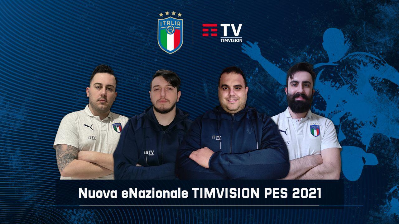 Nazionale TIM Vision PES: qualificazione a eEuro 2021, l'Italia a caccia del bis