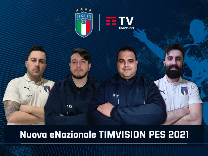 National TIM Vision PES: qualification for eEuro 2021, Italy in search of an encore