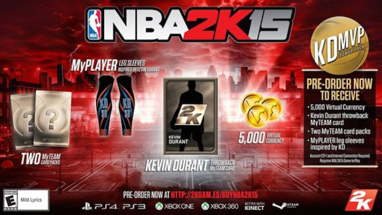 NBA 2K15: nuovo video gameplay