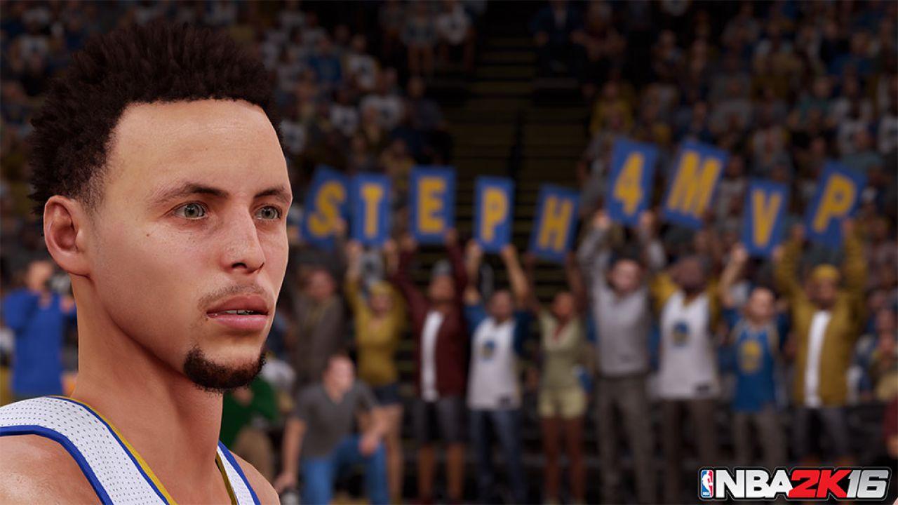 NBA 2K16: Stephen Curry è troppo forte per essere rappresentato accuratamente