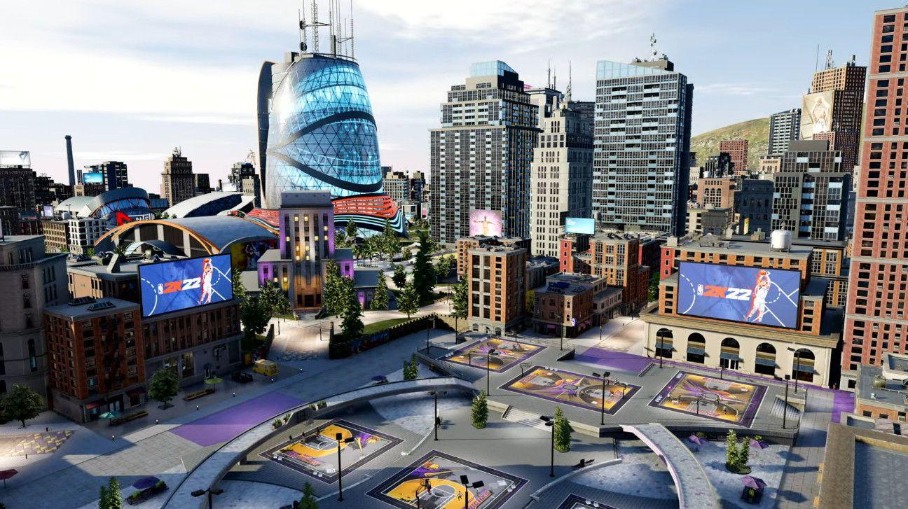 NBA 2K22: il nuovo video mostra la City, l'hub multiplayer per PS5 e Xbox Series X
