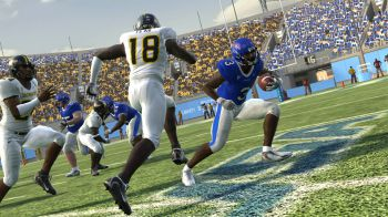 NCAA Football 09 in immagini su PSP