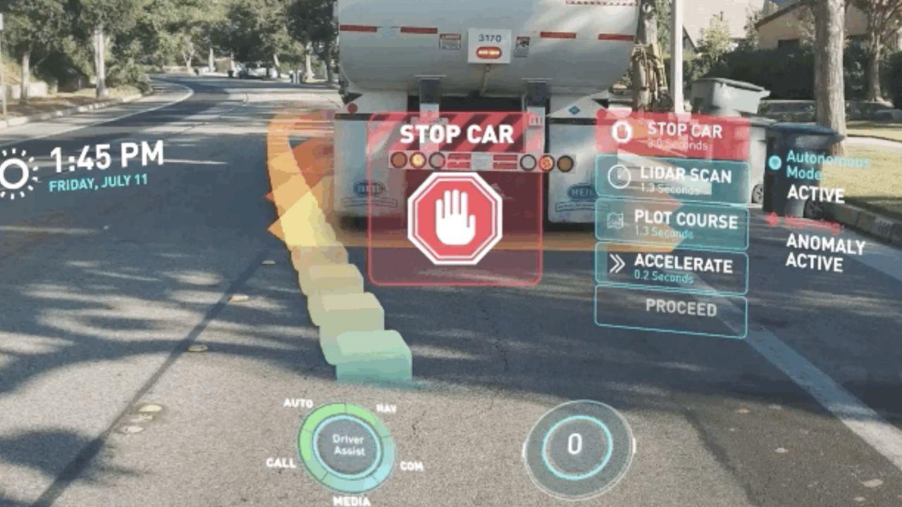 Nelle auto arrivano ologrammi e realtà aumentata: ecco l'head-up display del futuro