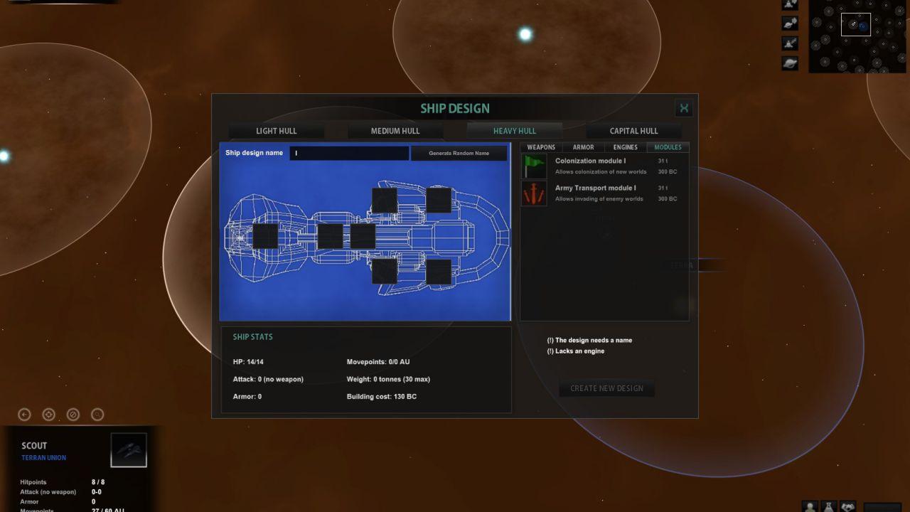 Neogen 2 Creations annuncia uno space strategy intitolato Star Lords