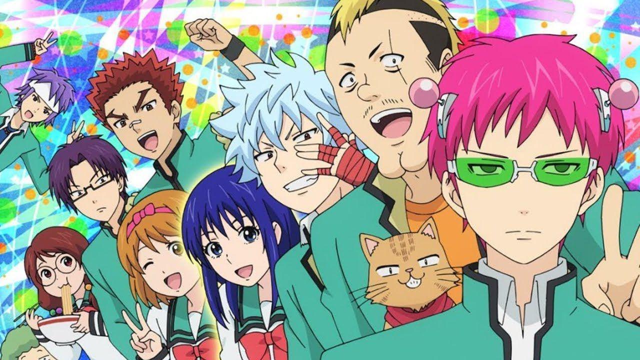 Netflix annuncia un anime originale tratto da The Disastrous Life of Saiki K.