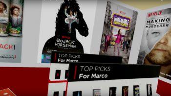 Netflix entra nel settore della realtà virtuale: lanciato un negozio video virtuale