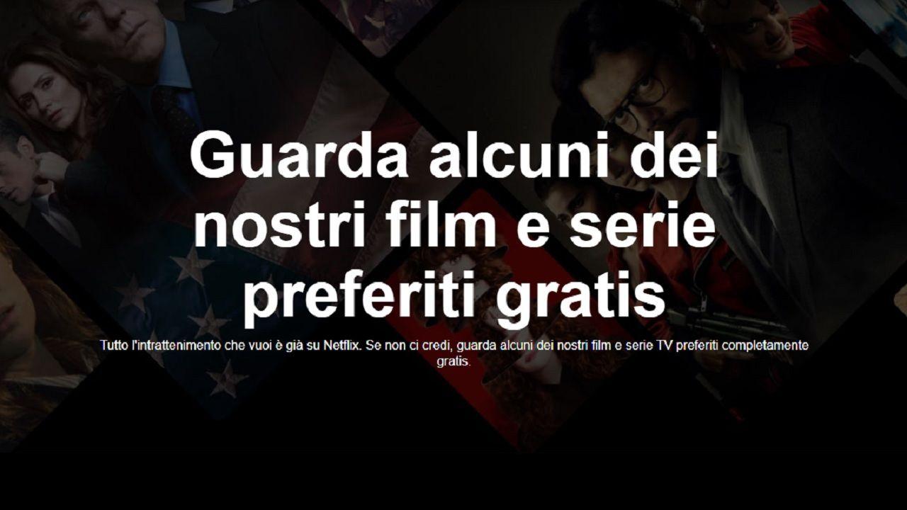 Netflix Gratis: Ecco la lista completa di film e serie Tv gratuiti in italia