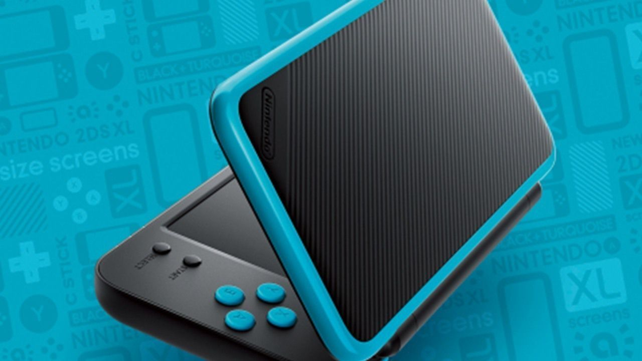 new nintendo 2ds xl in italia coster 149 98 euro. Black Bedroom Furniture Sets. Home Design Ideas