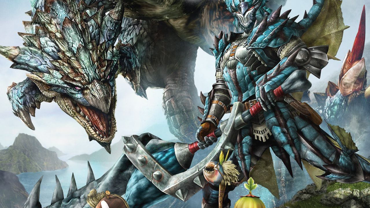 New Nintendo 3DS: nuova cover dedicata a Monster Hunter X