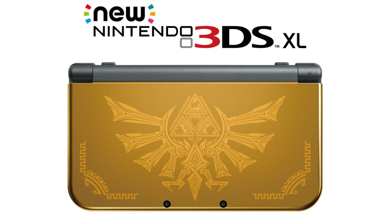 New Nintendo 3DS XL Hyrule Edition: video unboxing