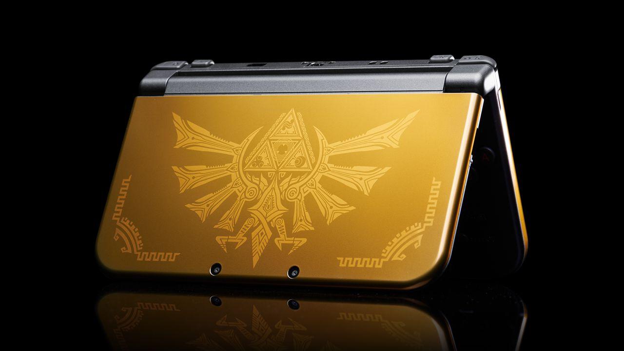 New Nintendo 3DS XL Hyrule Gold Edition includerà un codice per scaricare Classic Link
