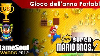 New Super Mario Bros. 2 eletto miglior gioco dell'anno portable da GameStop
