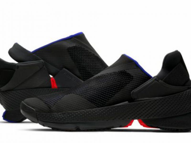 Nike presenta Go FlyEase: la scarpa che si calza da sola, senza cerniere e lacci