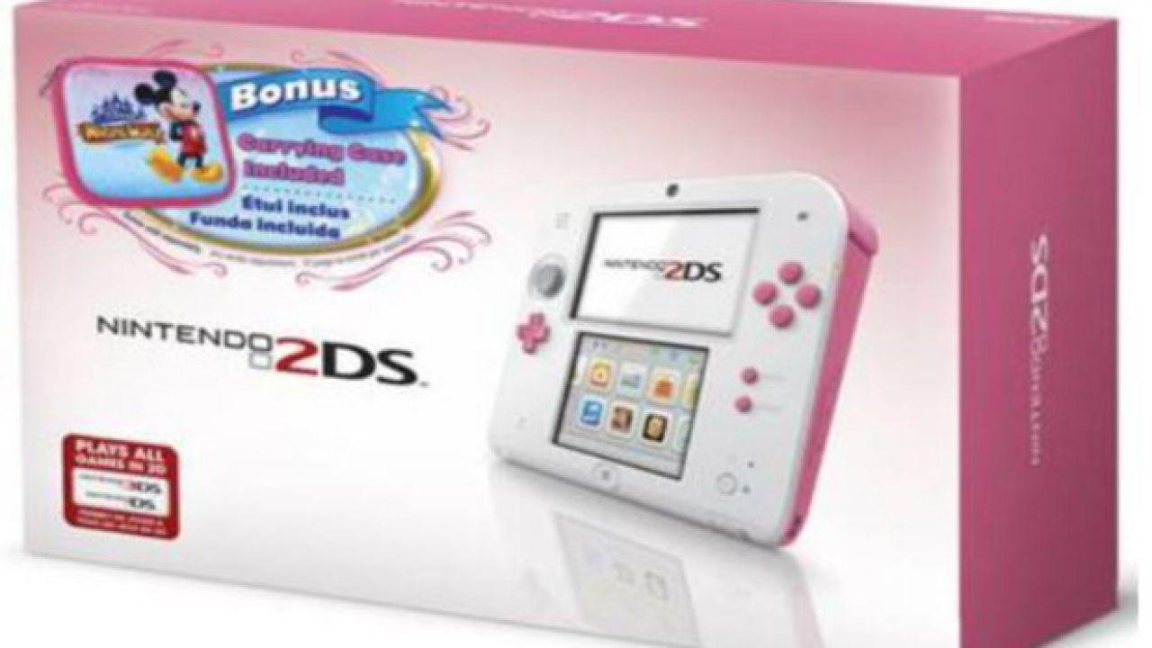 Nintendo 2DS: immagini console, accessori e confezione