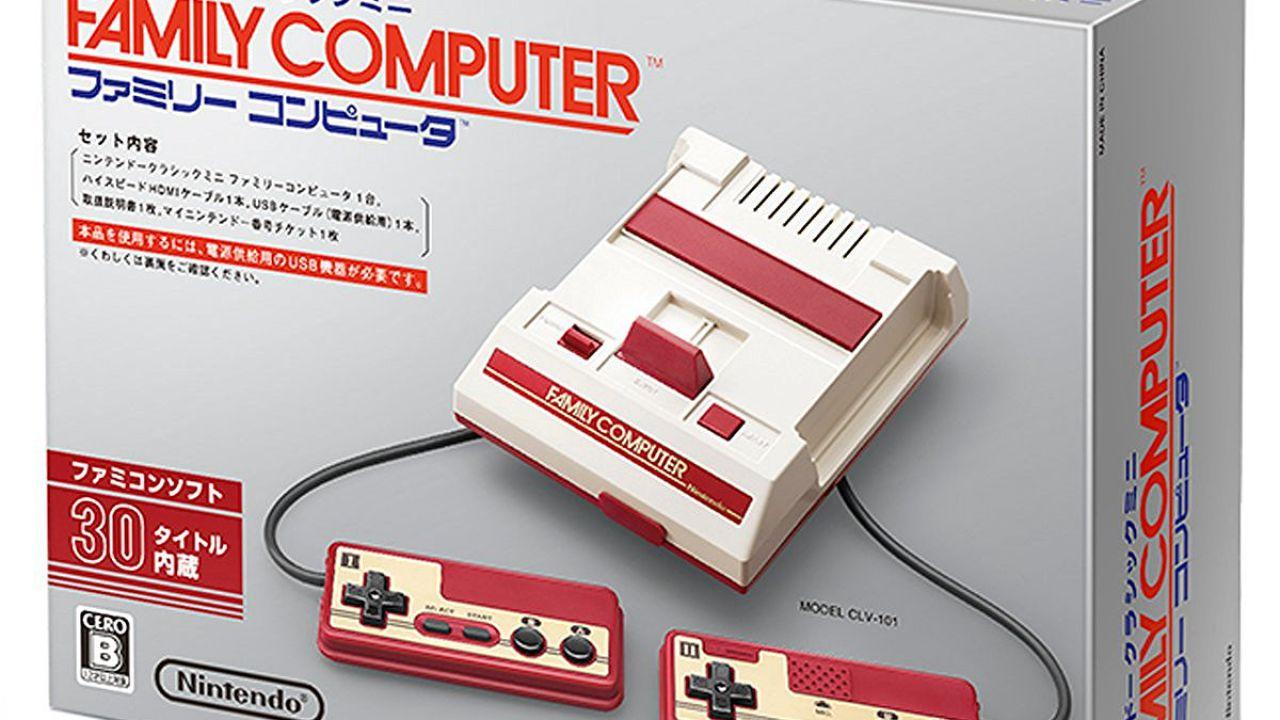 Nintendo annuncia Famicom Mini, la versione giapponese del NES Classic
