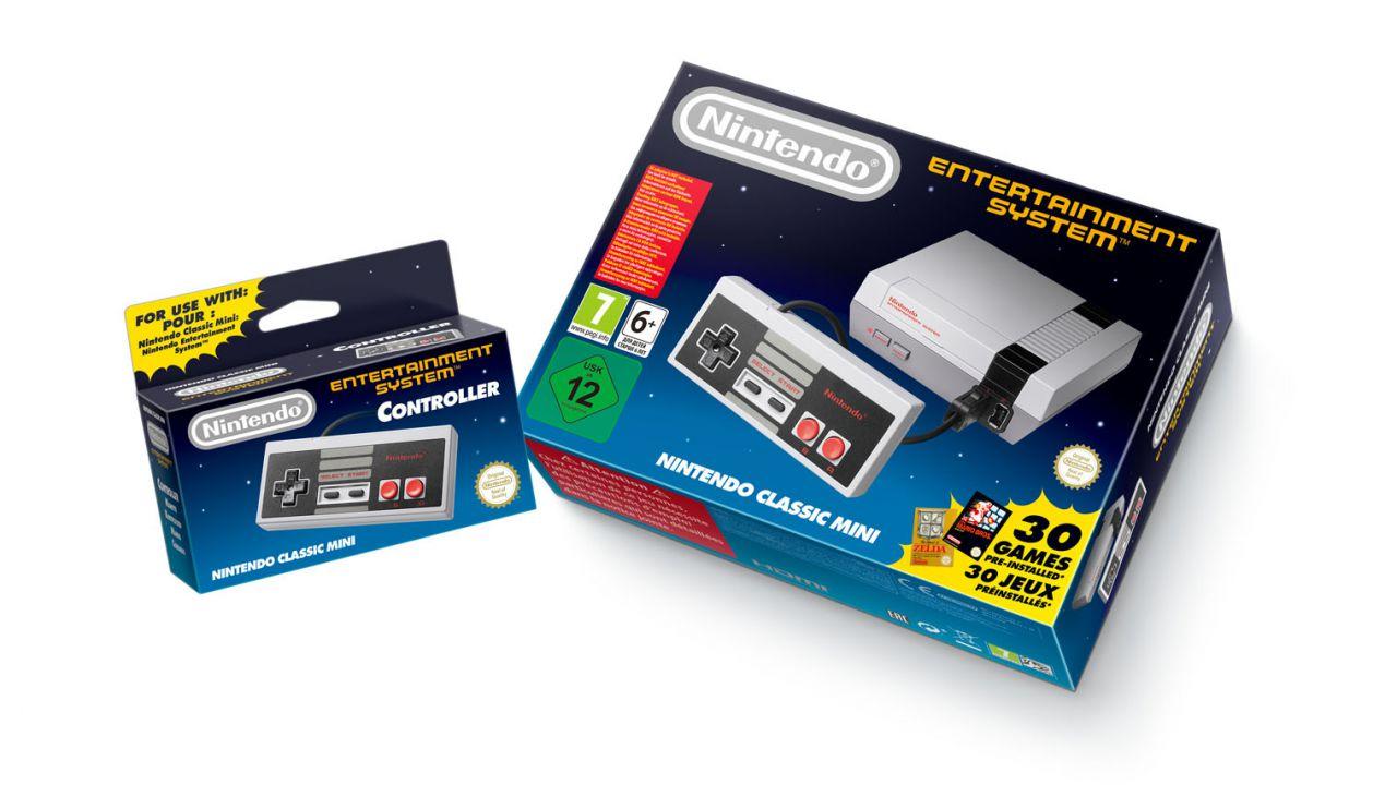 Nintendo annuncia NES Classic Mini, console disponibile dall'11 novembre