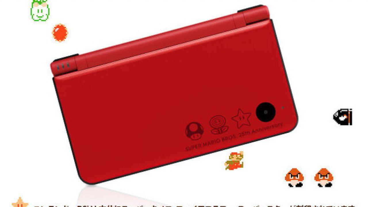 Nintendo DSi XL, annunciato in Giappone un modello per il 25° anniversario di Super Mario
