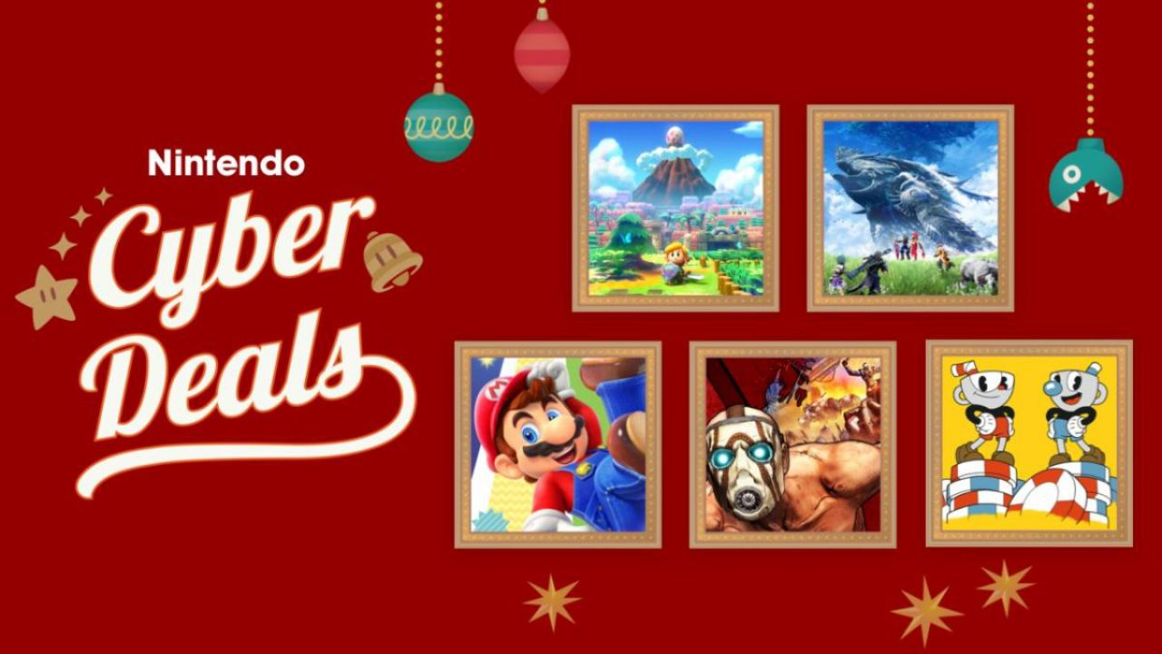 Nintendo eShop: al via gli sconti del Black Friday e Cyber Monday sui giochi Switch