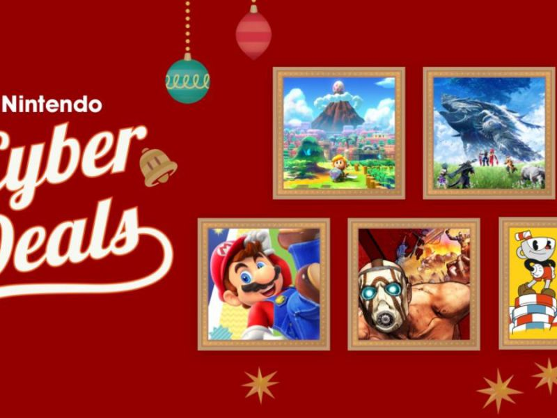 Nintendo eShop: Black Friday and Cyber Monday discounts on Switch games are underway