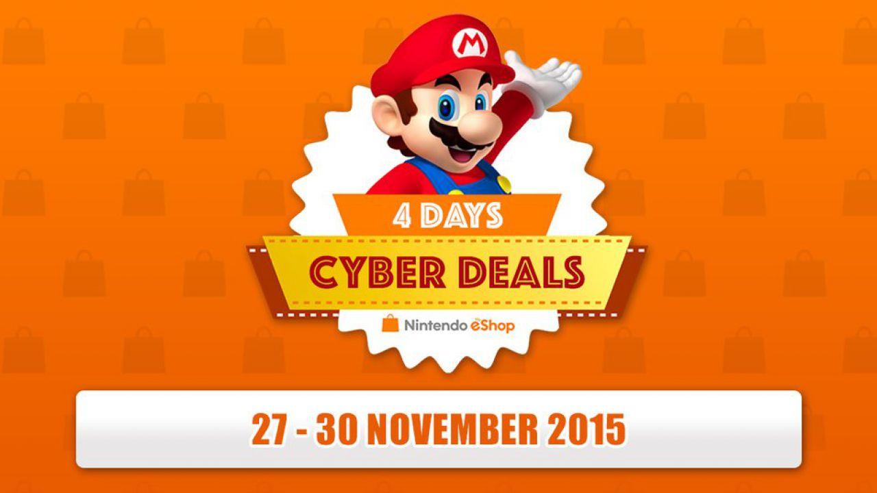 Nintendo festeggia il Black Friday con i Cyber Deals