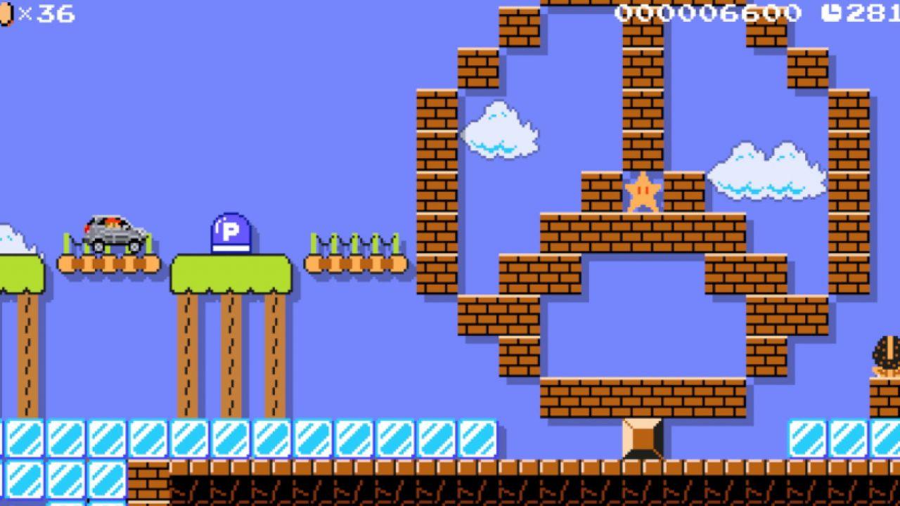 Nintendo e Mercedes collaborano ancora: Questa volta tocca a Super Mario Maker