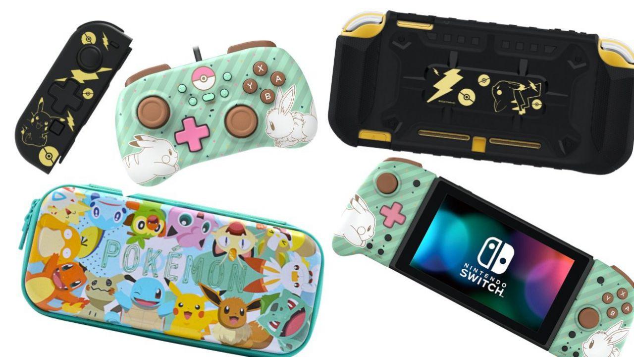 Nintendo Switch: annunciati nuovi accessori a tema Pokemon