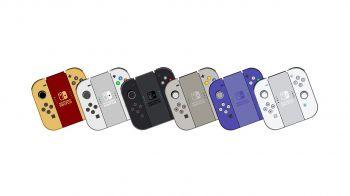 Nintendo Switch: un artista immagina le edizioni limitate del nuovo controller