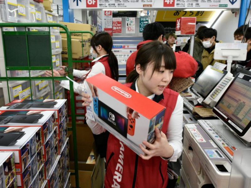 Nintendo Switch without brakes: exceeded the 18 million consoles sold in Japan!