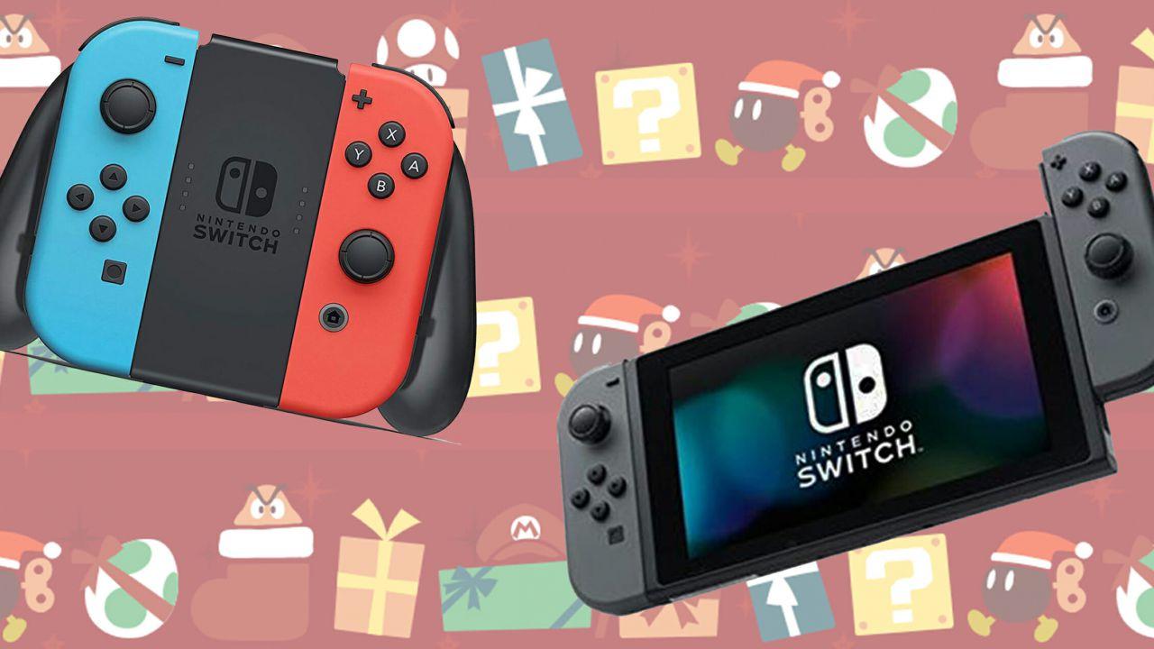 Nintendo Switch e giochi in sconto su Amazon: nuove offerte per il Cyber Monday