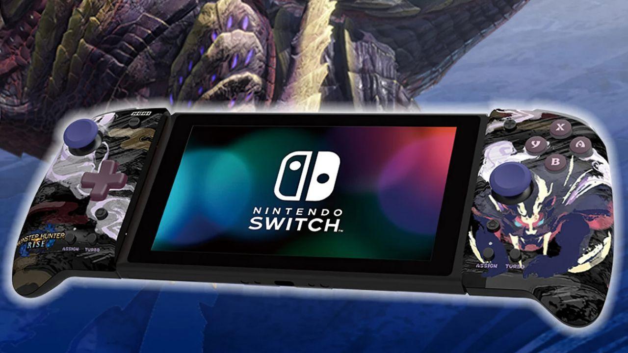Nintendo Switch: Hori presenta i controller a tema Monster Hunter Rise
