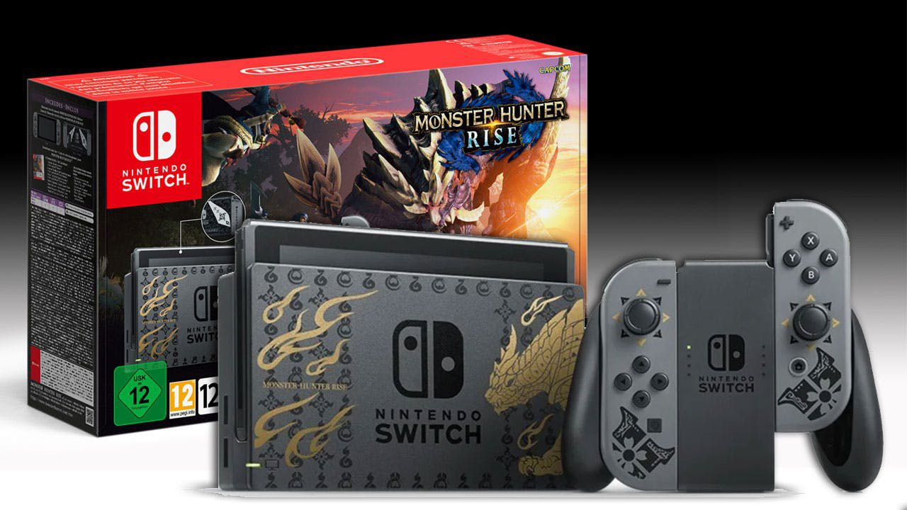 Nintendo Switch Monster Hunter Rise Edition e controller in preordine da GameStopZing