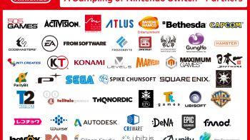 Nintendo Switch: oltre 50 compagnie stanno sviluppando giochi per la console