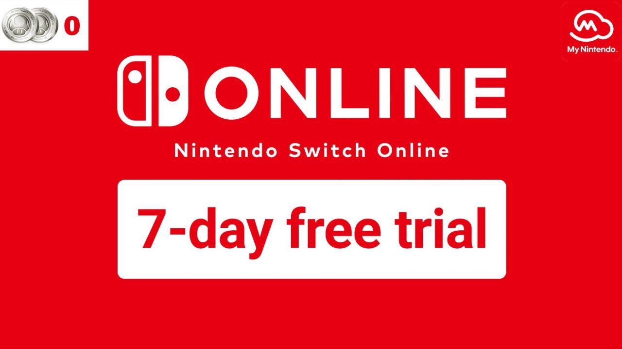 Nintendo Switch Online gratis: disponibili 7 giorni di prova, come iscriversi