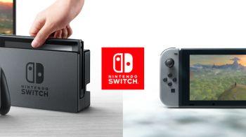 Nintendo Switch: le prime foto di console e controller