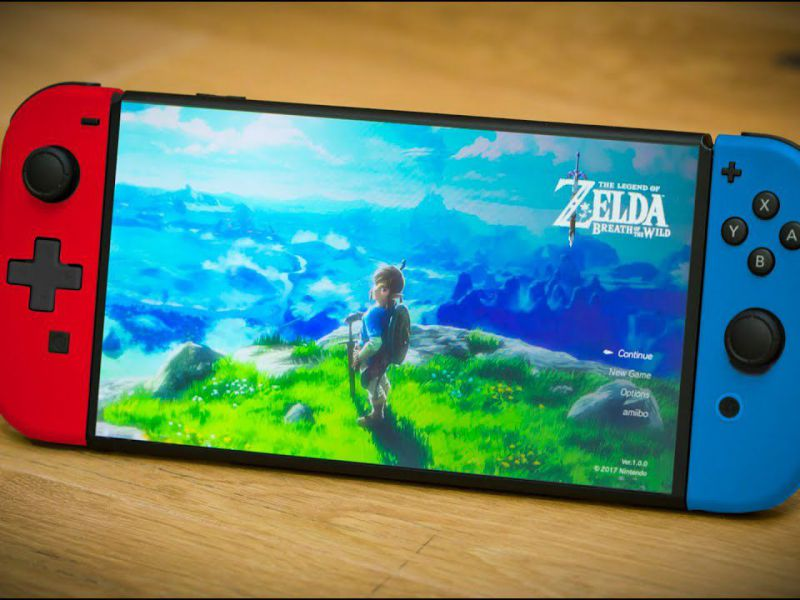 Nintendo Switch PRO with 7-inch OLED screen and 4K support, new Bloomberg report