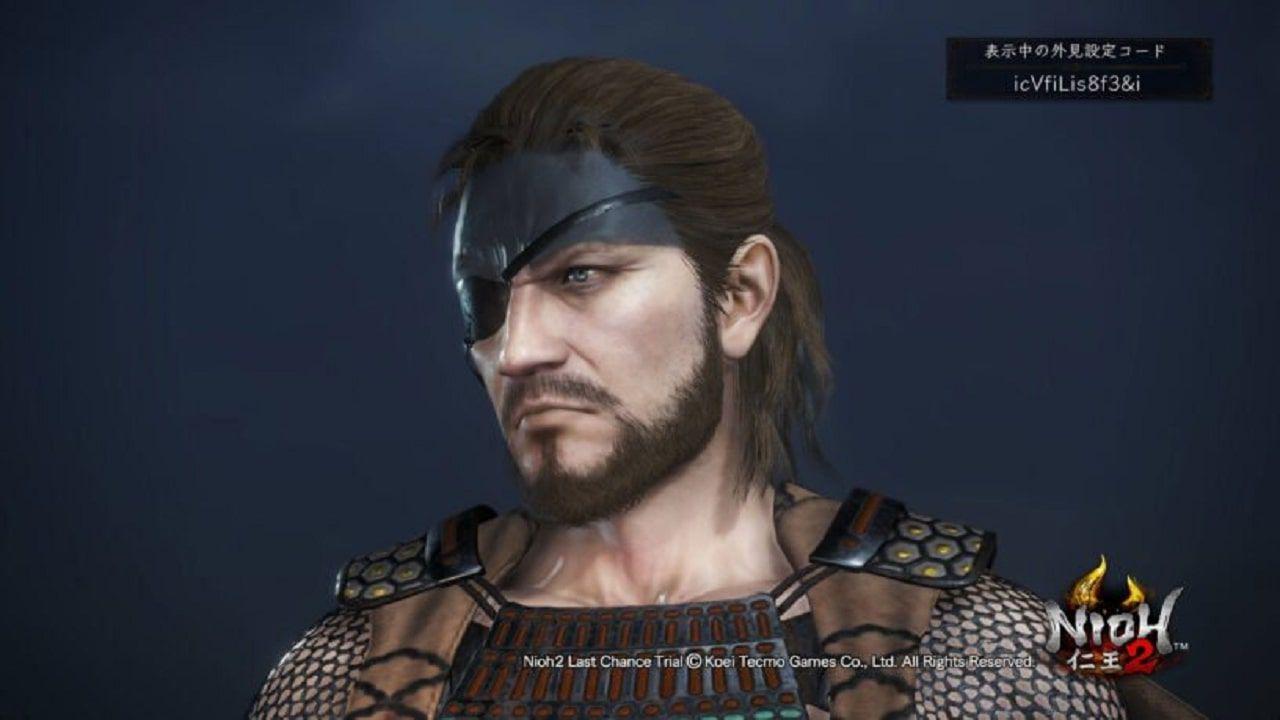 Nioh 2: i codici per creare personaggi come Snake, Sephiroth, 2B, Joker e altri ancora