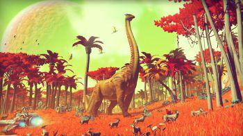 No Man's Sky: un giocatore ha scoperto una rara creatura gigante